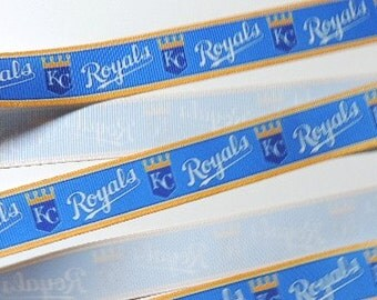 Kansas City Royals ribbon - 2 yards