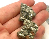 Raw Pyrite Stones - Polished Stones, Tumbled Stones, Chakra, Reiki, Root Chakra