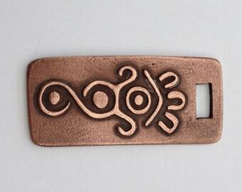 Pendant Copper - Mexican Symbol (H197-2)