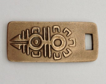 Pendant Bronze - Mexican Symbol (H207)