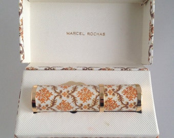 VTG MADAME ROCHAS Atomizer Sac incl. Perfume In Box 1960s 1970s Marcel Rochas - Near Mint Condition !