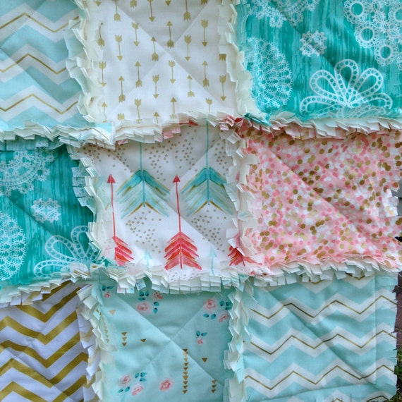 Image Result For Coral Baby Crib Bedding Sets