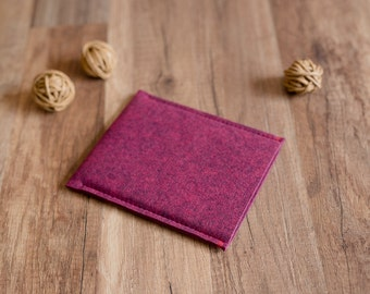Kindle case - Oasis, Voyage, Touch, Paperwhite, Fire case sleeve, fuchsia-melan felt