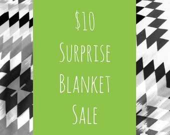 Surprise blanket sale