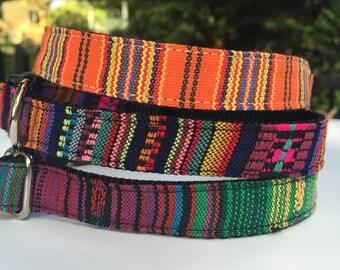Peruvian Fabric Dog Collars
