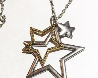 You're a Star necklace, Star trio necklace, star jewelry