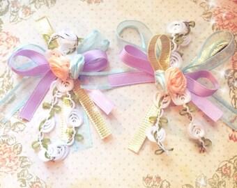 Romantic Floral Bouquet Earrings