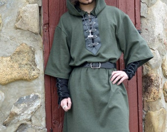 Viking tunic medieval clothing for men LARP costume and cosplay