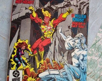 Vintage DC Comics The Fury of Firestorm - the Nuclear Man No. 35 May 1985