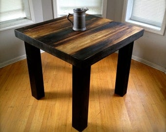 Counter Height Butcher Block Table