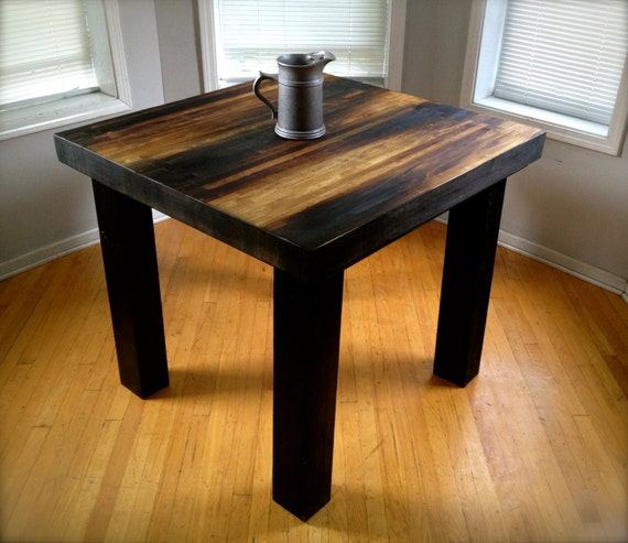 Kitchen Island Height Standard: Counter Height Butcher Block Table