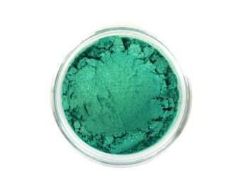 All Natural Makeup - Turquoise Eye Shadow - Eye Makeup - Justified