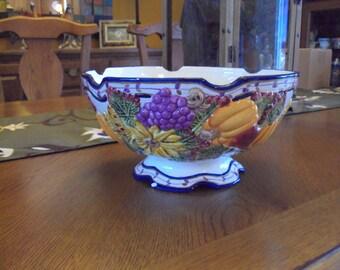 Ganz Pottery, Bella Casa Serving - Pasta - Fruit Bowl