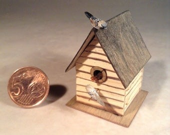 Miniature Birdhouse Scale 1:12