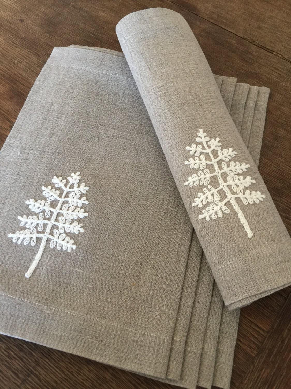 Linen placemats set of 6 table linen tabletop fabric placemats for Telas para manteles precios