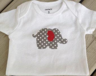 Elephant Baby Onesie