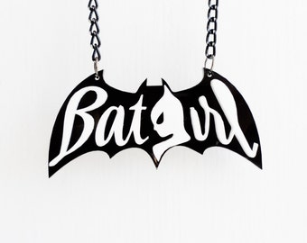 Bat Girl necklace