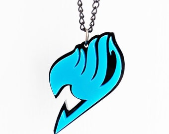 Fairytale logo pendant
