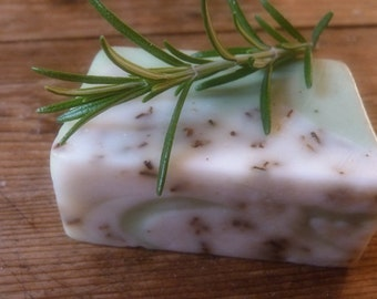 rosemary NATURAL OLIVE OIL soap