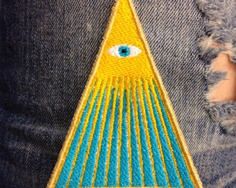 Holy Mountain Embroidered Patch