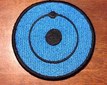 Watchmen's Dr Manhattan Hydrogen Embroidered Patch