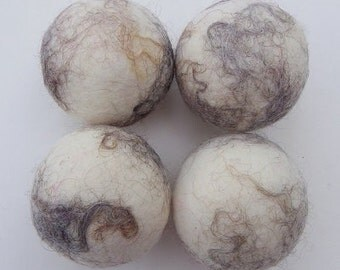 Canadian Felted Wool Dryer Balls - Cotswold Cream