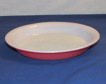 FLAMINGO PINK Pyrex Pie Plate 209
