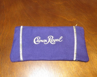 Crown Royal Zipper Pouch