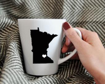Minnesota Mug.  Hometown, Adoption, Travel, Mission, Custom