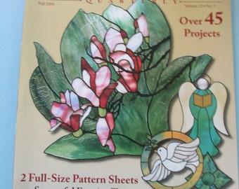 K Glass Pattern Quarterly Magazine. Back issue Fall 2006 us Vol 22 No 3 used