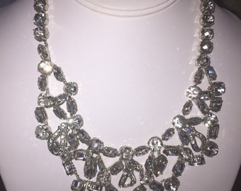 Vintage Rhinestone Necklace