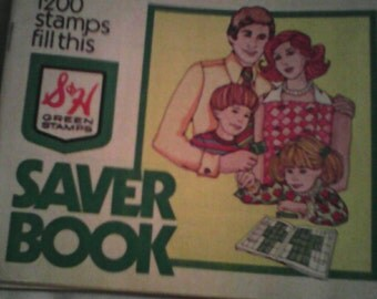 S&H Green Stamps. 10 full books and 1 empty book.