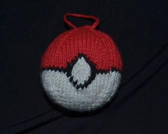 Pokeball Ornament