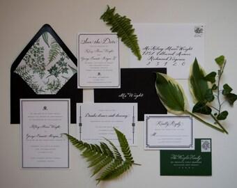 Fully Custom Wedding Invitation Design