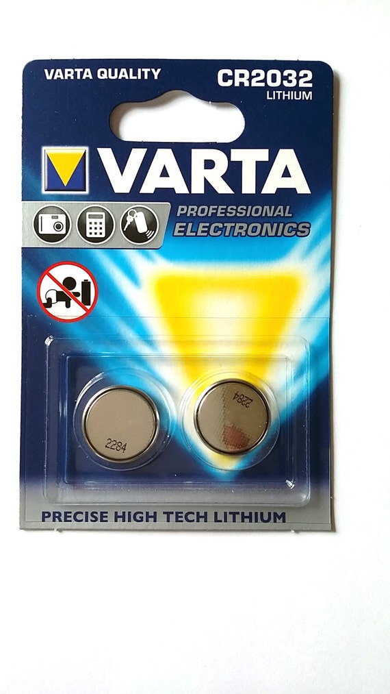 varta varta cr2032 lithium pile bouton 230mah by. Black Bedroom Furniture Sets. Home Design Ideas