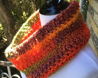 Autumn Cowl Scarf