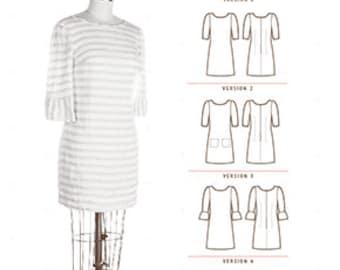 Colette Patterns Laurel Dress or Top Pattern Sizes 0 - 18