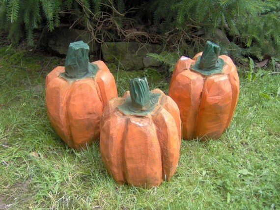 Items similar to chainsaw carved pumpkin on etsy