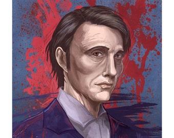 Hannibal Lecter NBC's Hannibal Poster