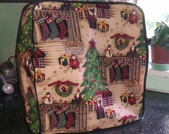 KitchenAid Mixer Cover - Country Christmas