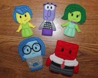 Emotions Finger Puppets