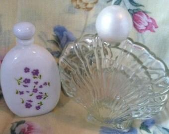 2 Collectible Vintage Avon Bottles
