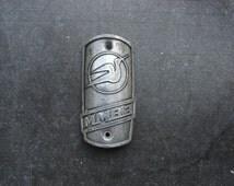 100 % Genuine Soviet Vintage Bicycle Head Badge / Original Soviet Bike Bicycle Brand Metal Plate / Collectors Badge / bike logo sign (B)