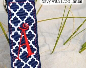 Quatrefoil Key Ribbon (Assorted Colors)