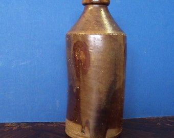 Stoneware Beer Bottle 1850 -1870