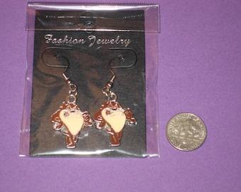 Taz Charm Earrings