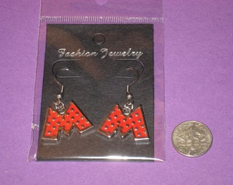 Minnie Charm Earrings - B