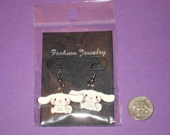 Rabbit Charm Earrings