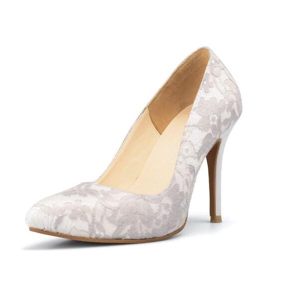 ivory white lace wedding shoes white wedding shoes custom