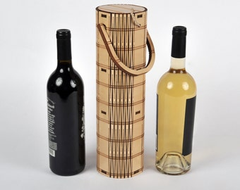 Wine Carrier - Wood